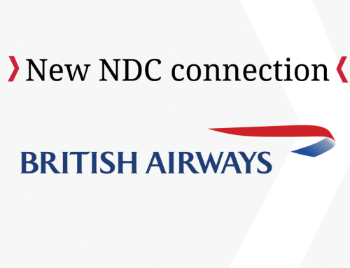 New NDC connection – British Airways