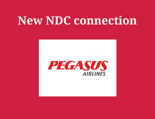 New NDC connection: Pegasus Airlines